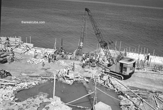 The Malecon, under construction