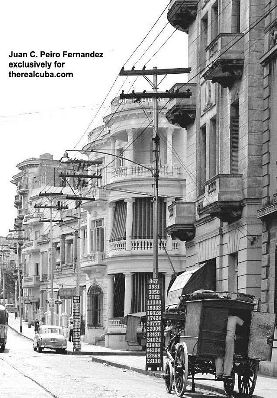 The beautiful colonial buildings on San Lazaro street. Most of them are now destroyed